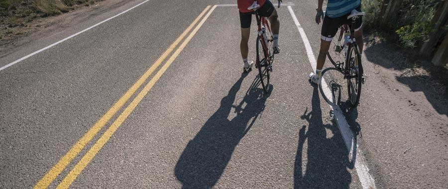 riders on bikes